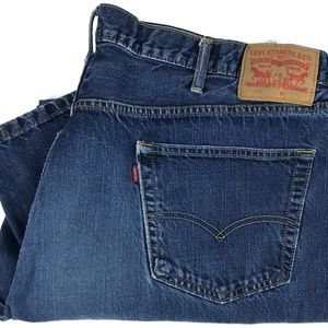 Levi's 559 Relaxed Straight Fit Denim Jeans 48x30